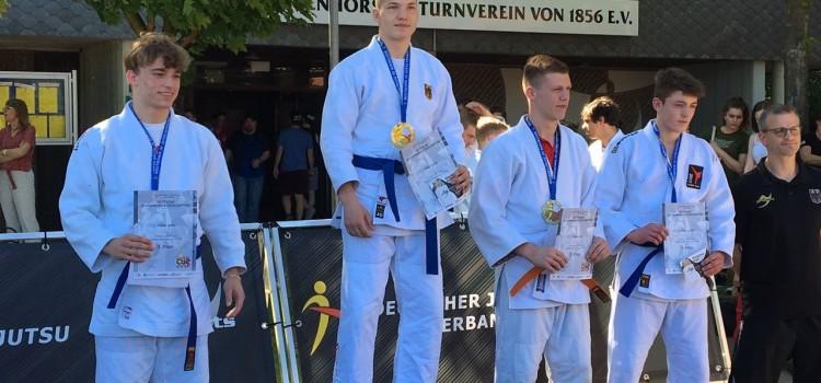 Timur Eisele ist Deutscher Meister 2017 im Ju Jutsu